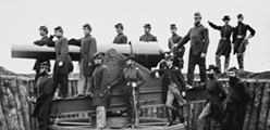 Washington, District of Columbia. Officers of 3d Regiment Massachusetts Heavy Artillery