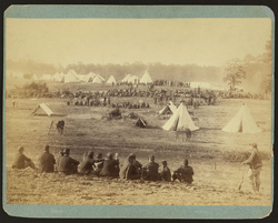 Confederate prisoners captured at the battle of Fisher's Hill, VA