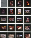 Example of a contact sheet