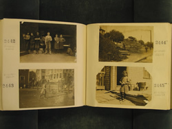 NCLC album - two page spread showing Phoebe photos