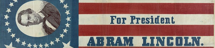 For president, Abra[ha]m Lincoln. H.C. Howard, 1860.