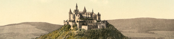 Hohenzollern, Germany, ca. 1895.