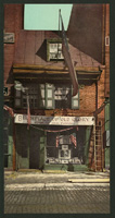 Betsy Ross house, Philadelphia. Photochrom prin