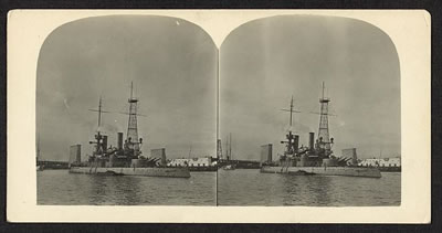 Unidentified battleship