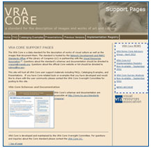 VRA Core Support