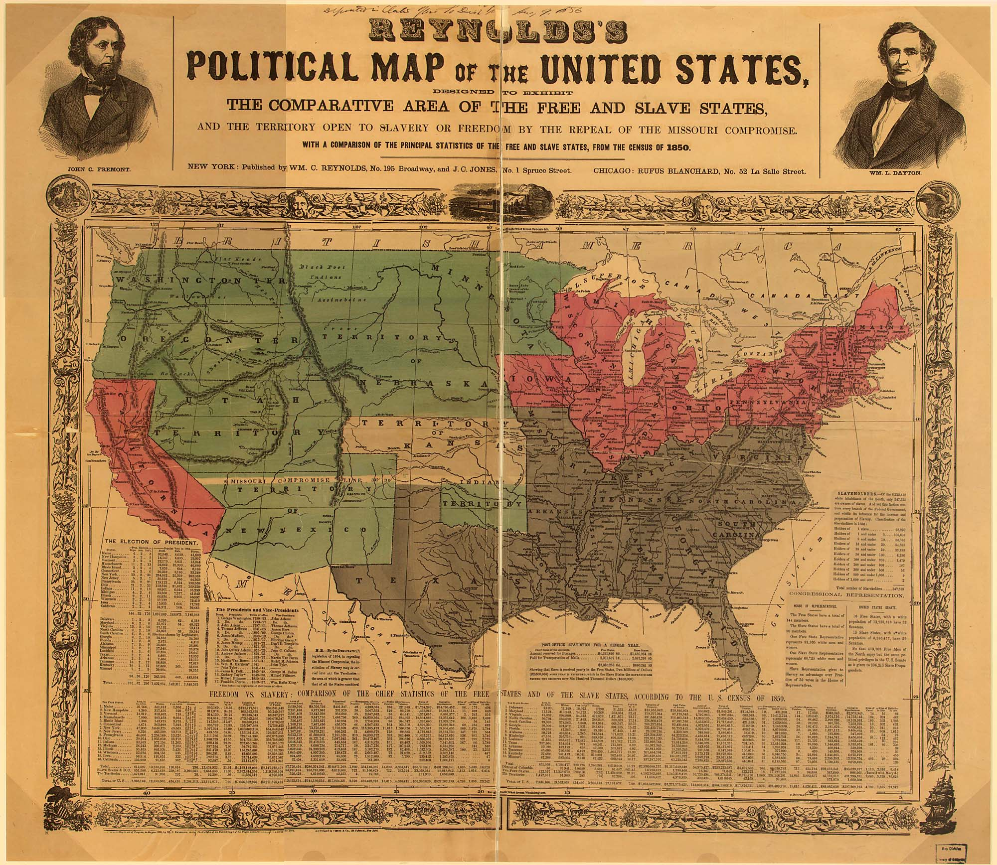 Abolition AntiSlavery Movements And The Rise Of The Sectional - Map of united states during reconstruction