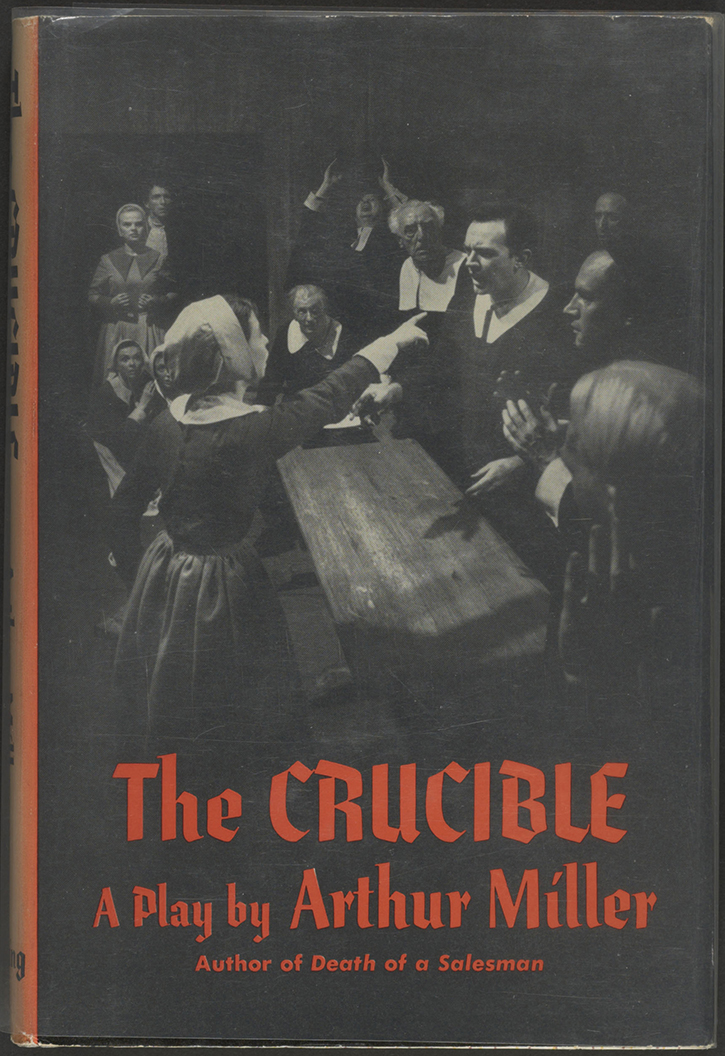 arthur millers crucible essay Table of contents 1 introduction 2 arthur miller's the crucible 21 biography  22 summary 23 character constellation 231 relationship john proctor.