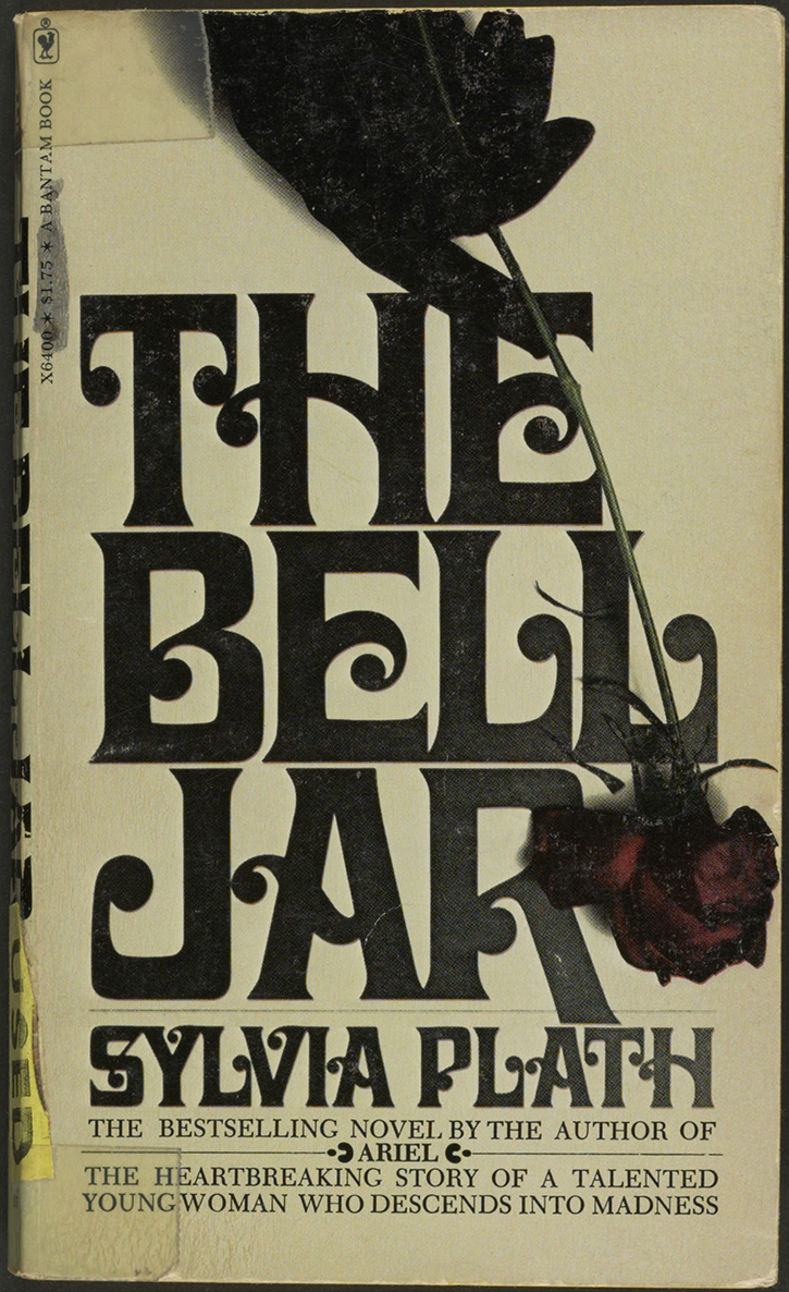 1950 to 2009 america reads exhibitions library of congress the bell jar new york bantam books 1975 private collection 047 00 00