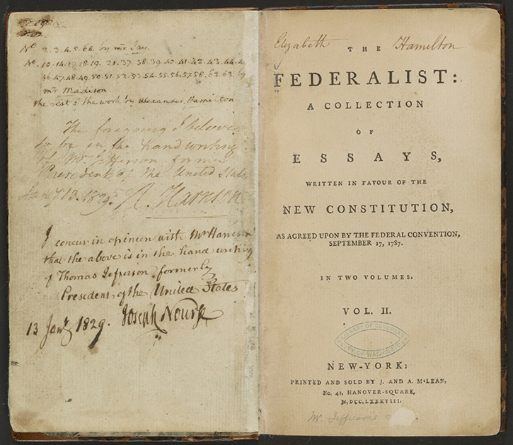 Conclusion: The Constitution, the Federalists, and the American State