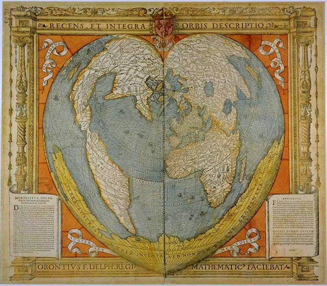 World Map In Renaissance. Enlarge The Path to Royal Absolutism  Creating French Culture