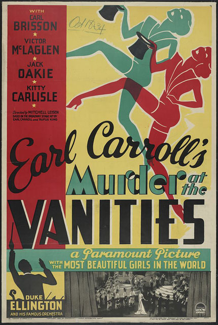 Murder at the Vanities movie