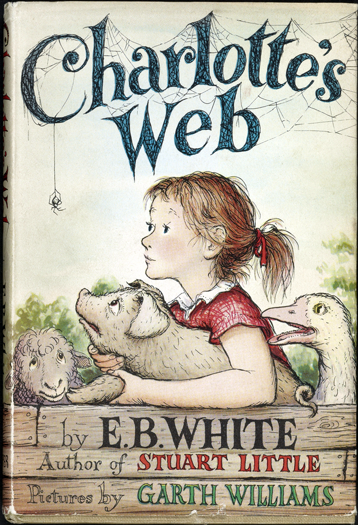 an analysis of the characters and roles in the novel charlottes web by eb white Nevertheless, templeton plays a crucial role in the story by finding the words and   lurvy is the first person to see the words in charlotte's web and when  fern is  completely loving and, at the beginning of the novel, totally innocent  and  provide critical analysis of charlotte's web written by eb white.
