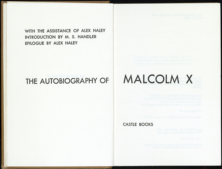 essay about the autobiography of malcolm x [in the following essay, painter examines (he facts and events involved in the story of malcolm x's life as they are presented in the autobiography of malcolm x and two films adapted from that.