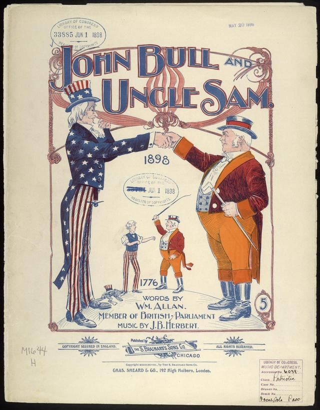 Introduction John Bull And Uncle Sam Four Centuries Of British