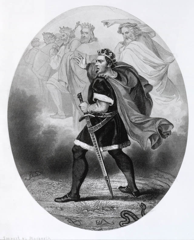 an analysis of the portrait of a murderer in macbeth a play by william shakespeare Macbeth becomes convinced that he can only become king of scotland by killing duncan, the present king macbeth tells his wife about his meeting with the witches, and she tells him that she will take charge of the preparations for duncan's murder macbeth kills the king, and he and lady macbeth become king and queen of scotland.