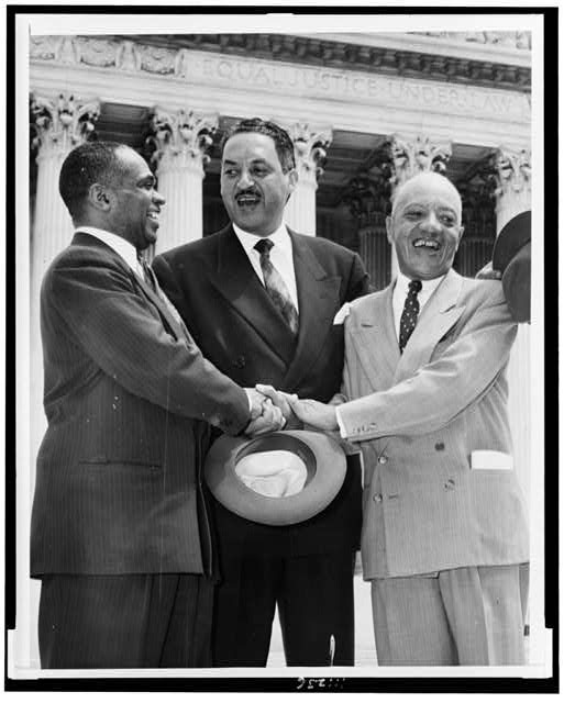 an overview of the brown and the naacp for the supreme court in 1951 Order of argument in the case brown v  in the lower court case of brown v board of education of  naacp attorney and future supreme court.