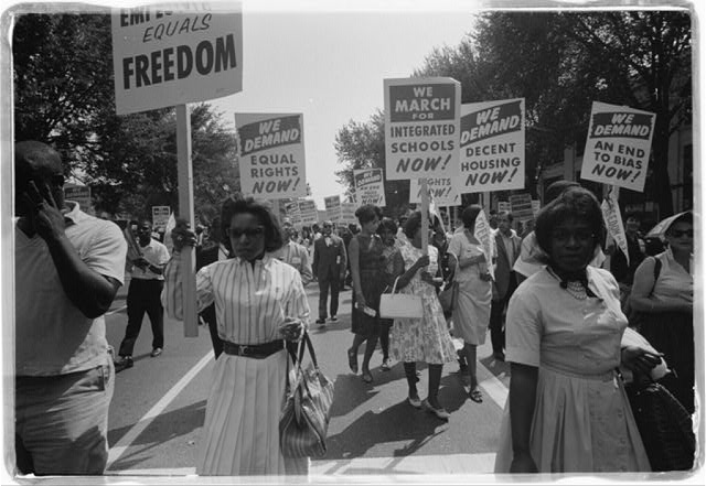 the conflicts between the blacks and whites in america during the times of the civil rights movement
