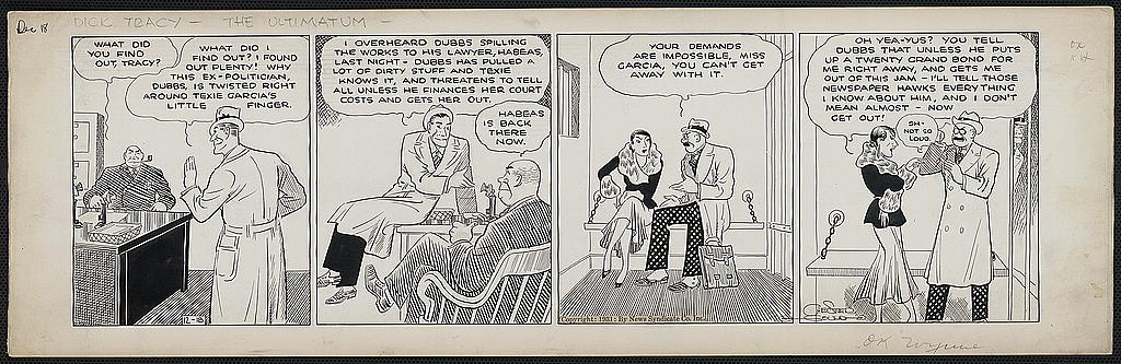 Cartoonist showcase newspaper strip reprints anal