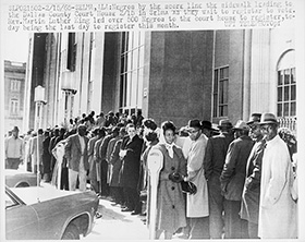 a history of the discrimination of african americans and its impact on their right to vote African american civil rights in north carolina  when they gained the right to vote, african american  african americans and their supporters continued to.