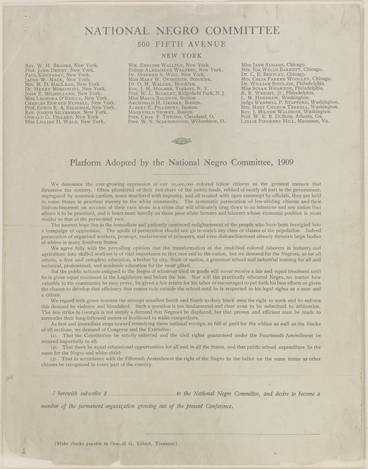 platform adopted by the national negro During the antebellum period, philadelphia's black leaders launched the national negro convention movement to address the hostility, discrimination, exclusion, and violence against african americans by.