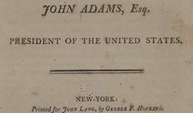 Election Of 1800 Creating The United States Exhibitions