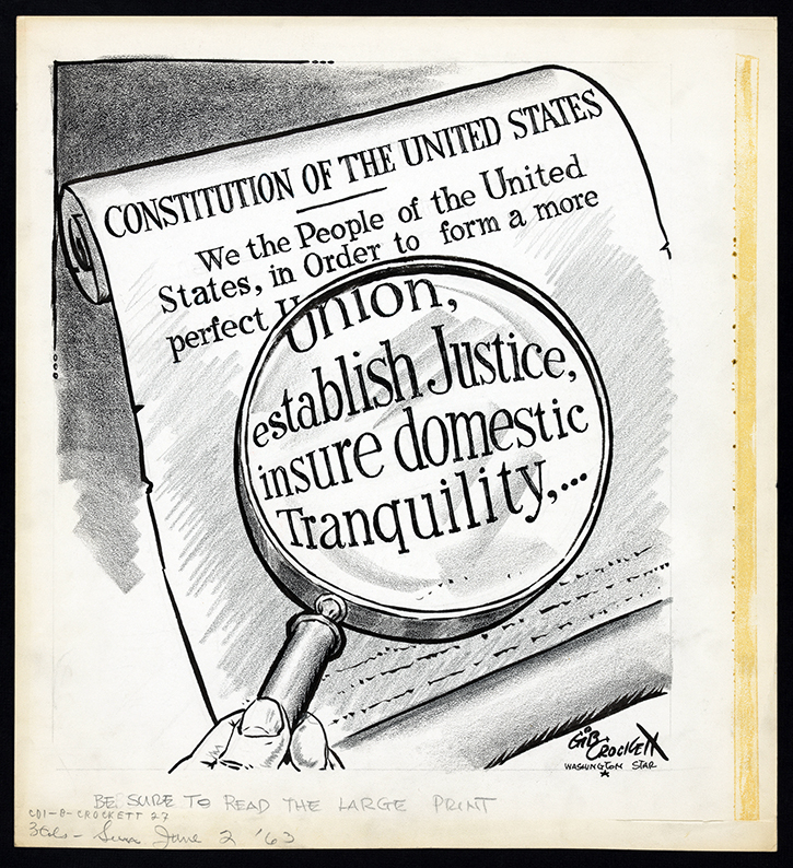 how to draw the constitution