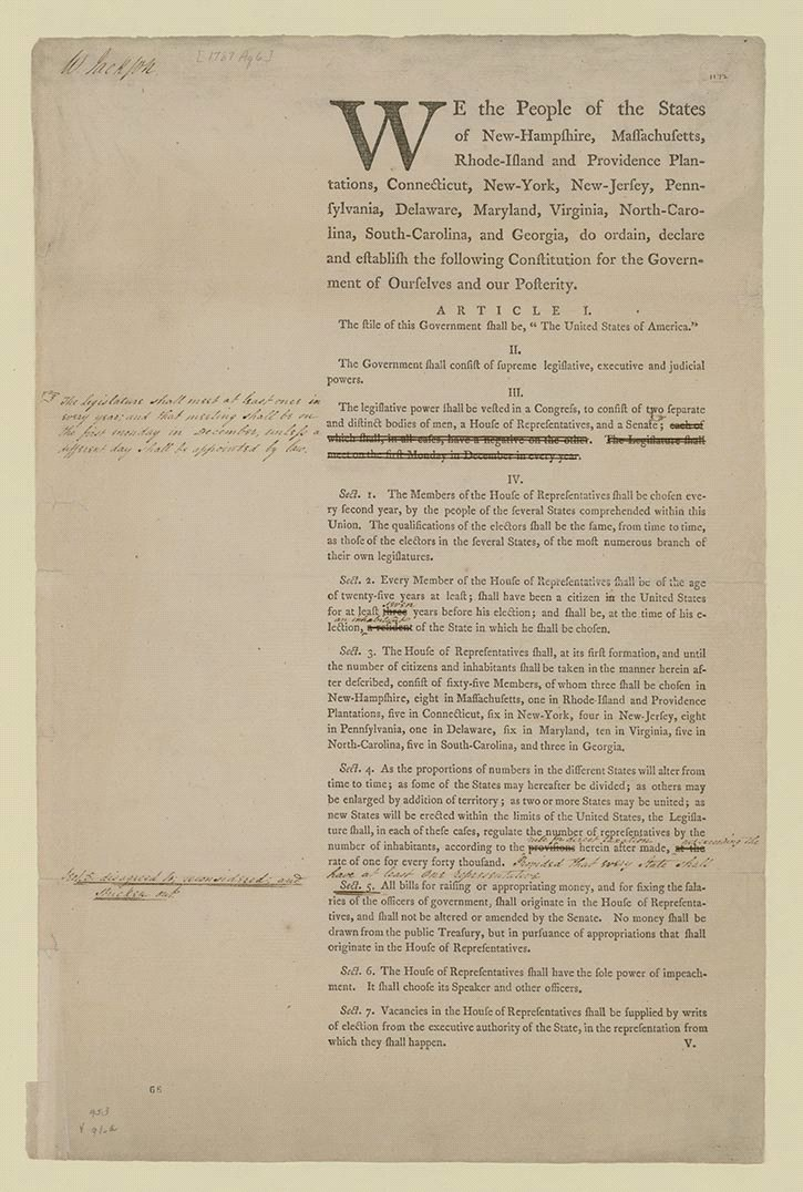 an essay on the ratification of the united states constitution There were plenty of debates in the states that ratified earlier and it is these  debates,  write a reflective paragraph on why connecticut ratified the  constitution.