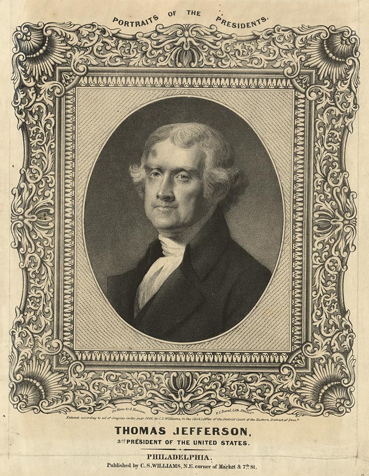 a biography of thomas jefferson a president of the united states Thomas jefferson is best known as the author of the declaration of  independence and as third president of the united states learn more in this  biography.