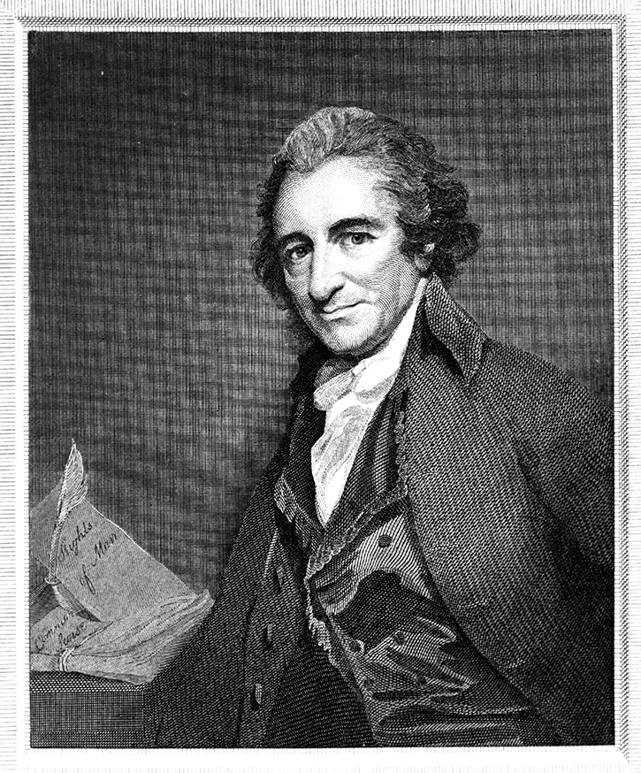 thomas paines beliefs The entire book by deist pioneer thomas paine, the age of reason this insightful book covers topics of god, deism, reason, christianity, the bible, revealed.