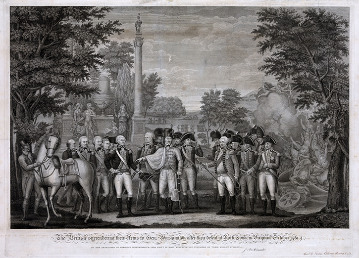 an overview of the surrender of cornwallis at yorktown in virginia Yorktown, virginia october 19, 1781 - in a stunning reversal of fortune that may signal the end of fighting in the american colonies cornwallis' surrender ended a disastrous southern campaign for the british army.