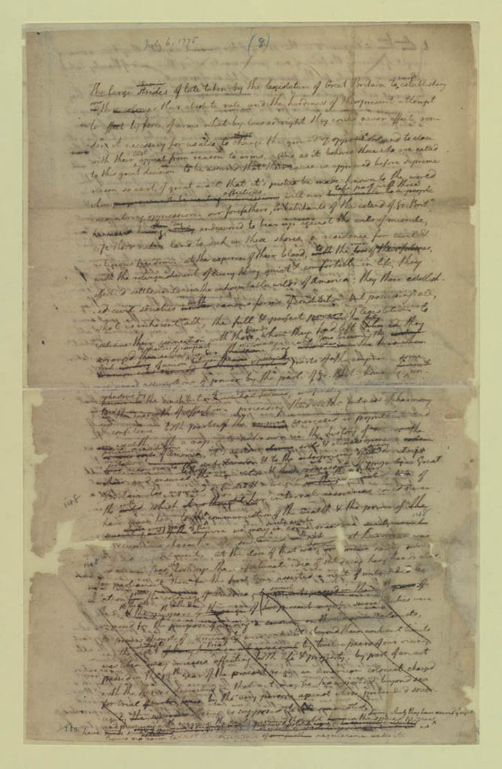 The declaration of independence analysis essay
