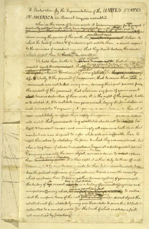 essay on thomas jefferson and the declaration of independence Free essay reviews the declaration of independence was written after the revolutionary the authors' of the declaration of independence was thomas jefferson.