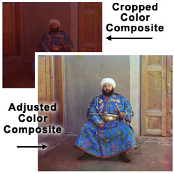 Image of Adjusted Color Composite