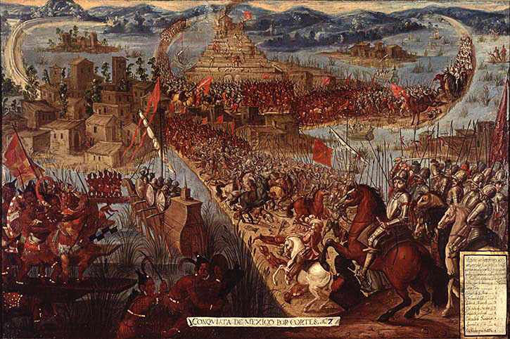 why the aztec empire was defeated The aztec empire dominated mesoamerica from mexico and guatemala to the territories of salvador and honduras in the fifteenth and sixteenth centuries for almost one hundred years.