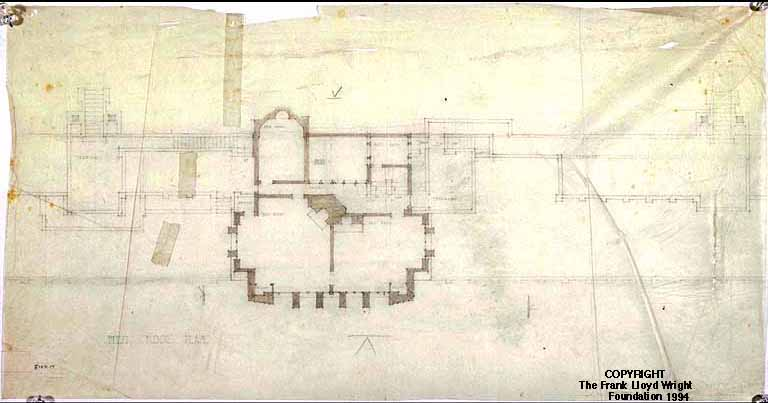 doheny ranch development - frank lloyd wright: designs for an