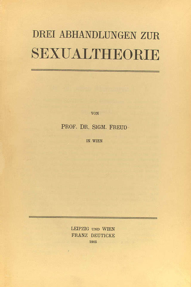 3 essays on sexuality The visual poetics of shame: a feminist reading of freud's three essays on the  theory of sexuality (1905) by griselda pollock pages 20 download pdf .