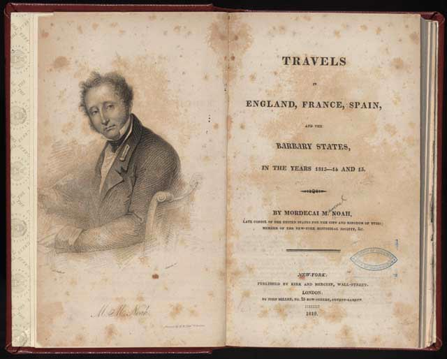 Travels in England, France, Spain, and the Barbary States: In the Years 1813-14 and 15 Mordecai Manuel Noah
