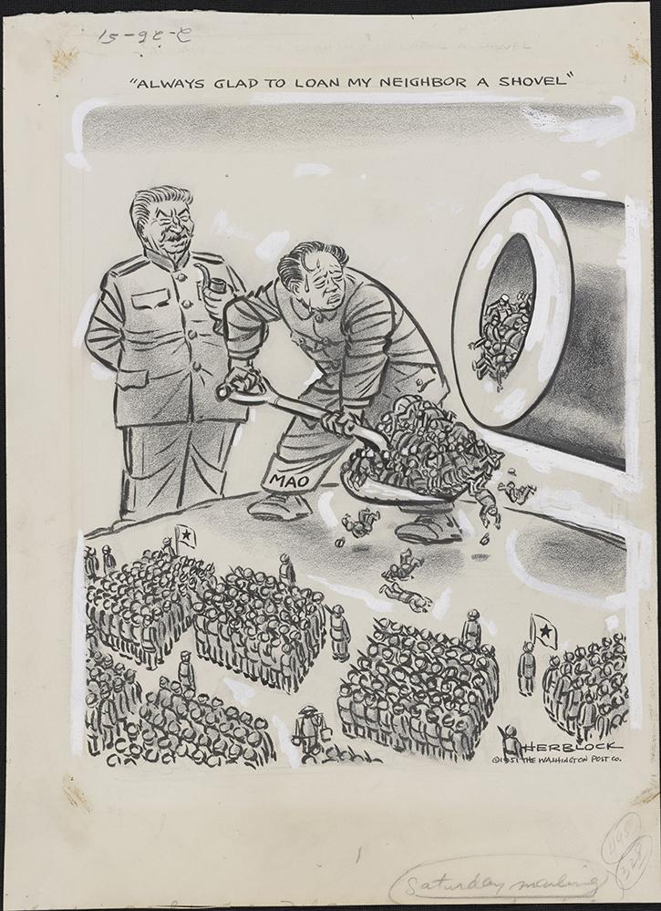Herblock Looks At Communism Herblock Gallery