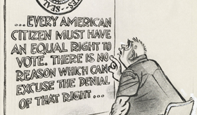 Herblock Looks At 1965 Fifty Years Ago In Editorial Cartoons