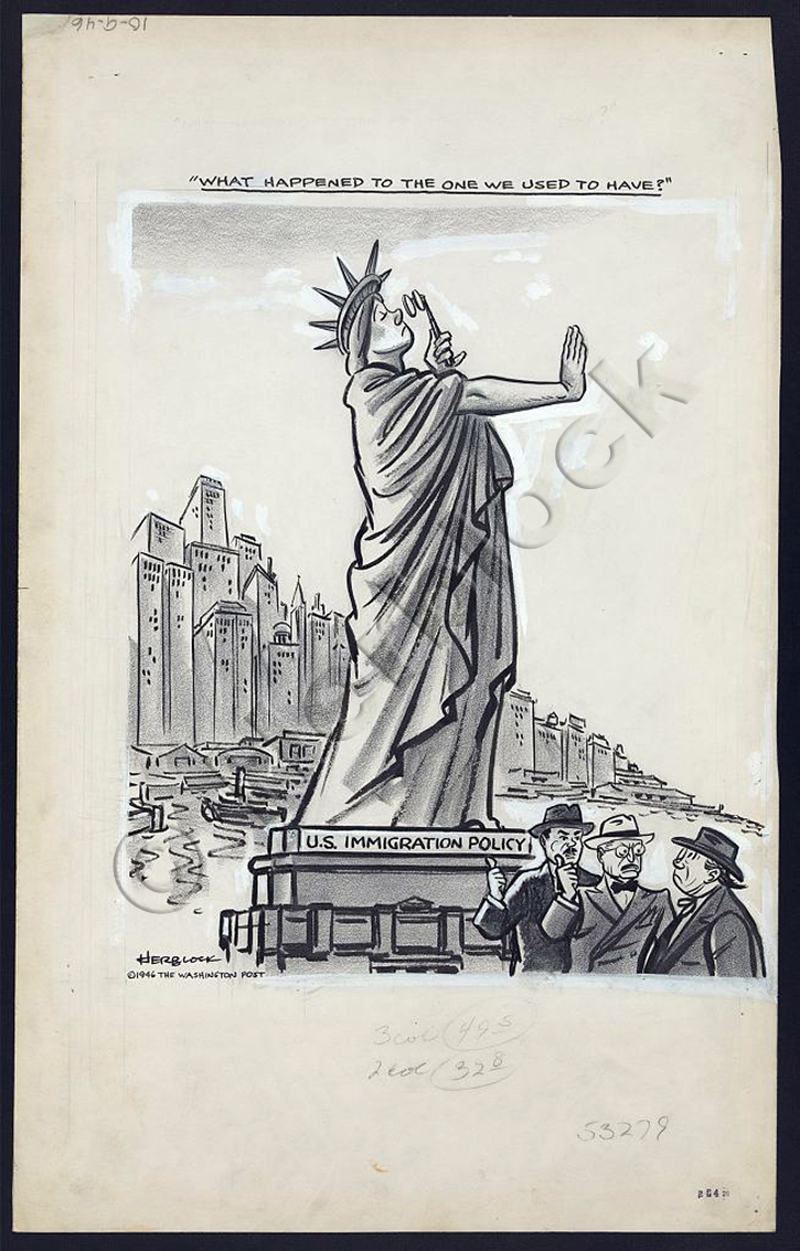 herblock political cartoon The political cartoons of herbert block (1909–2001) appeared in american newspapers for more than seven decades under the pen name herblock this exhibition contains block's original drawings of presidential cartoons from franklin roosevelt through bill clinton.