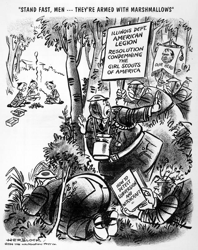 "fire "" herblock s history political cartoons from the crash to  enlarge"