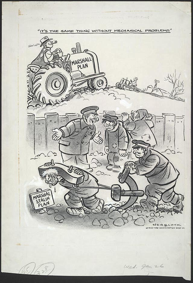 tick tock herblock s history political cartoons from the crash enlarge