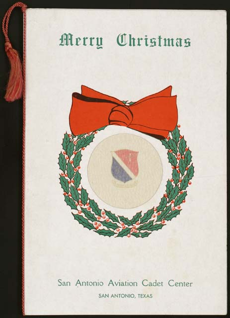 christmas card december 25 1943 william joseph okeefe collection veterans history project library of congress 125 - Christmas Cards For Veterans