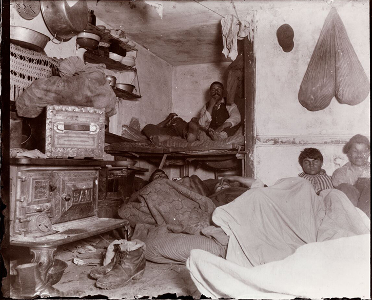 Writer Jacob Riis Revealing How The Other Half Lives