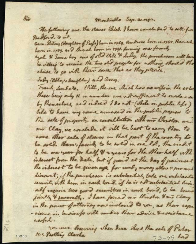 an analysis of the letter for jefferson Benjamin banneker, a well educated man, wrote a letter to thomas jefferson in 1791 arguing against slavery banneker uses several rhetorical techniques including tone.