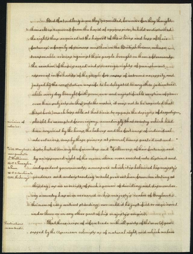 declaration of independence right to institute new government  thomas jefferson