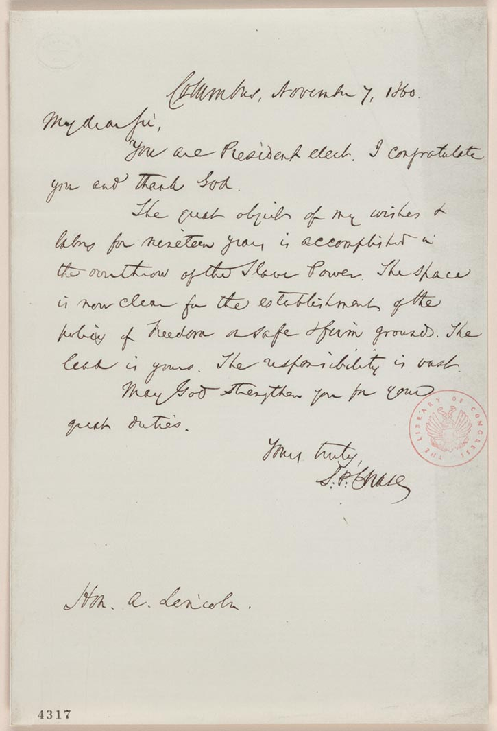 The run for president with malice toward none the abraham lincoln holograph letter robert todd lincoln papers manuscript division library of congress 077 digital id al0077 altavistaventures Choice Image