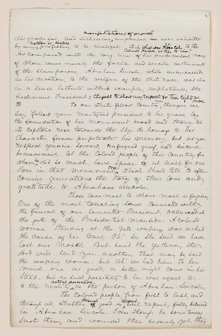 frederick douglass writing acfm douglass learning to and write essay more frederick douglass 725 x 1100