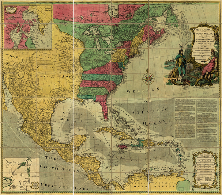 Online Exhibition Mapping A New Nation Abel Buell S Map Of The