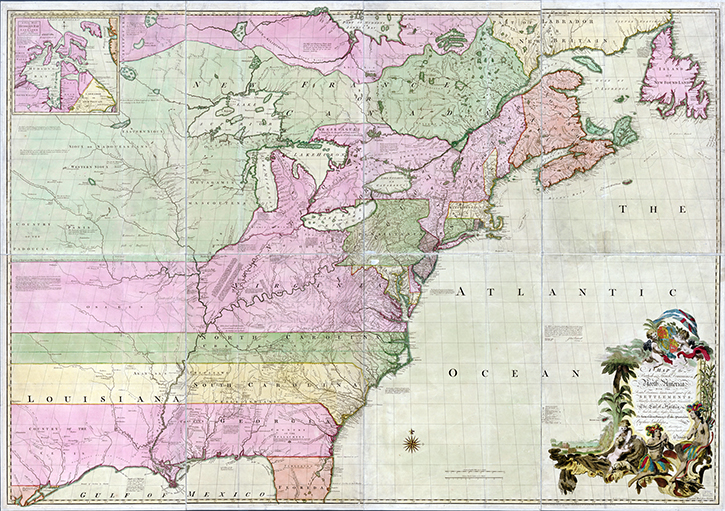 Online Exhibition - Mapping a New Nation: Abel Buell\'s Map of the ...